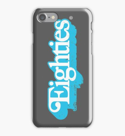 Eighties / 80s Retro Vintage Toy Logo iPhone Case/Skin