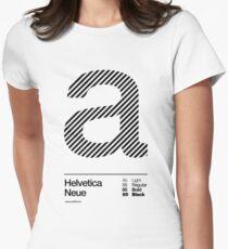a .... Helvetica Neue (b) T-Shirt