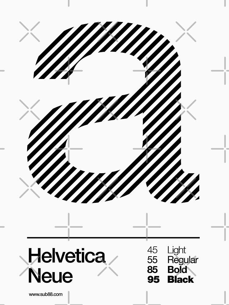 a .... Helvetica Neue (b) by sub88