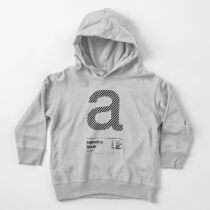 a .... Helvetica Neue (b) Toddler Pullover Hoodie