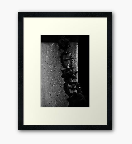 Fifty Shades of Grey........ Framed Print
