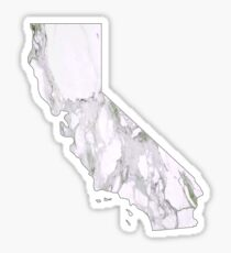 Marble California Sticker