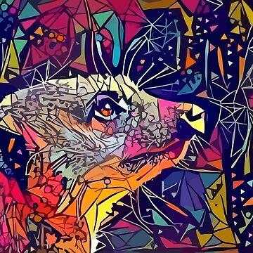 Abstraktes Erdmännchen von stilldan97