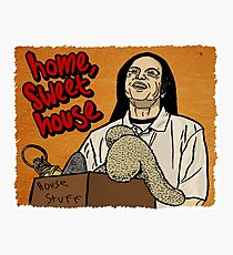 Tommy Wiseau - Home Sweet House Photographic Print
