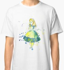 Pretty Girl In Blue Dress  Classic T-Shirt