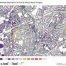 Multiple Deprivation St Mary's ward, Islington by ianturton