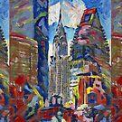 Eastside Chrysler Building New York City by RD Riccoboni by RDRiccoboni