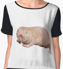 Naked mole rat Chiffon Top