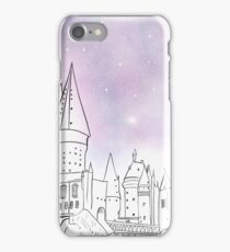 Galaxy Hogwarts iPhone Case/Skin