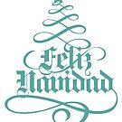 Feliz Navidad/Merry Christmas by Irving Vazquez