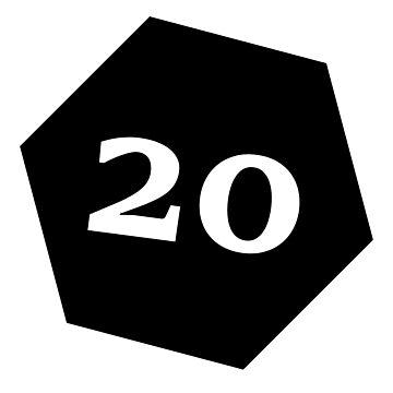 D20 - Black by coolbruiser