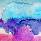Watercolour abstract 2 by Jennifer J Watson
