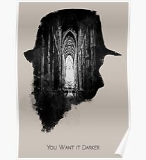 You Want it Darker Poster