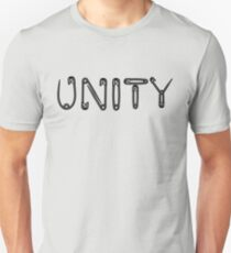 Black Unity Safety Pins T-Shirt