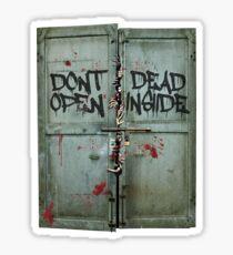 The walking dead - dead inside - zombie Sticker