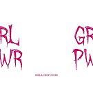 GRL PWR mug by siyi