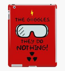 The Goggles iPad Case/Skin