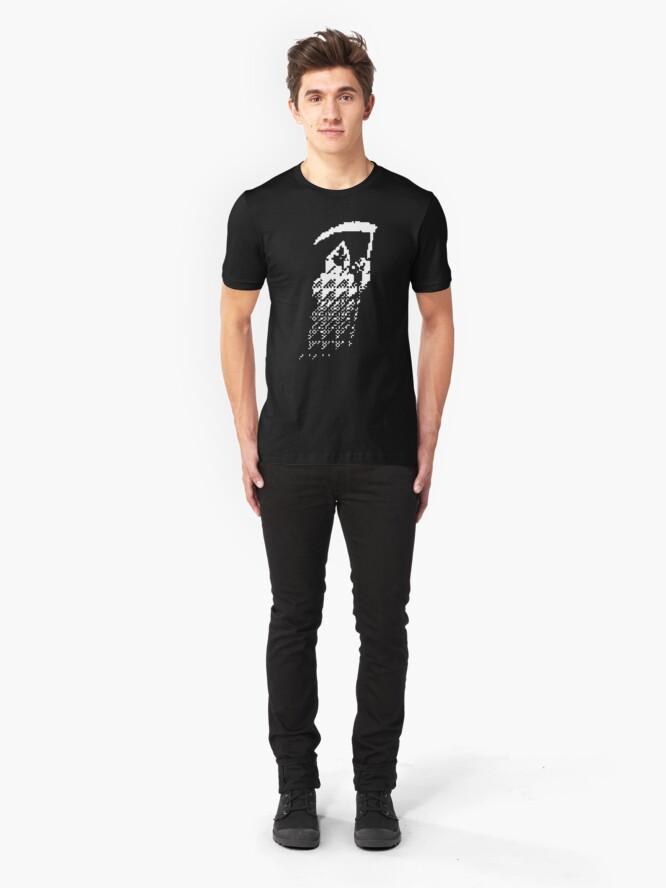 Alternate view of DEDSEC - THE_REAPER Slim Fit T-Shirt