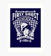 First Ghost Cab Co Art Print