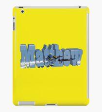 Matthew with Blue Angels iPad Case/Skin