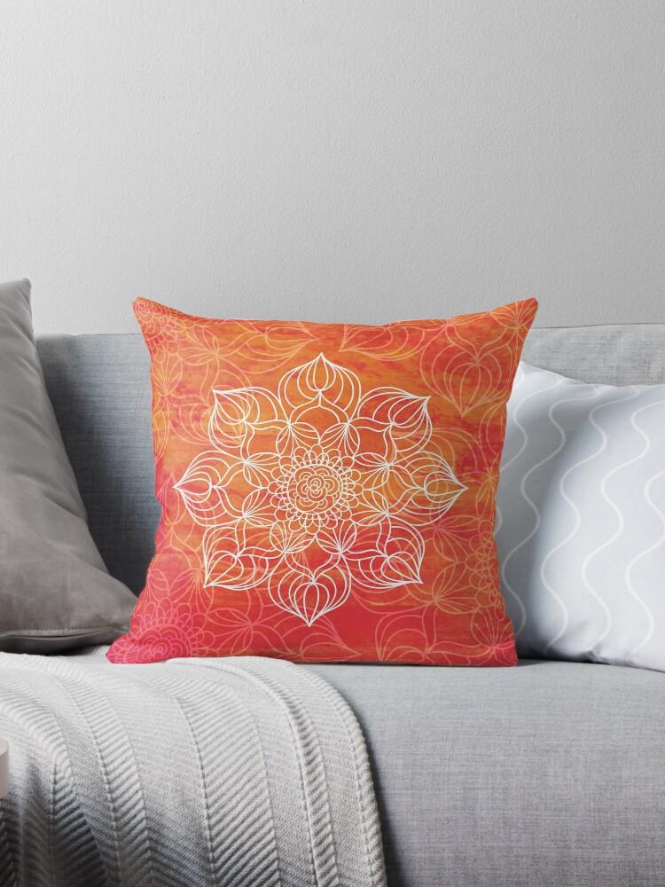 Orange mandala by weloveboho