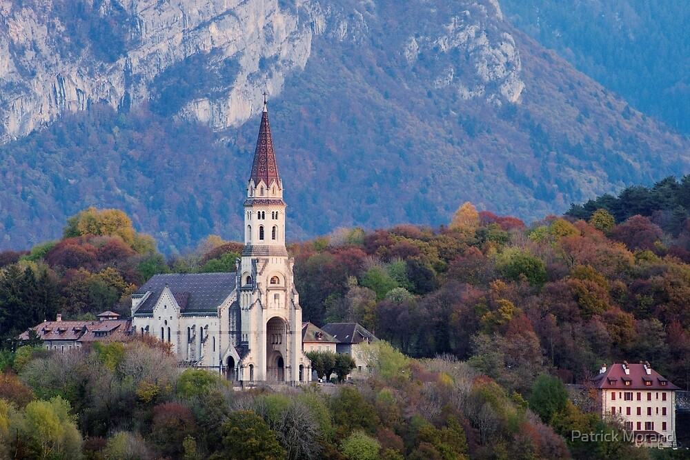 Visitation Basilica in Annecy by Patrick Morand