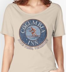Columbia Inn, Pine Tree Vermont Women's Relaxed Fit T-Shirt