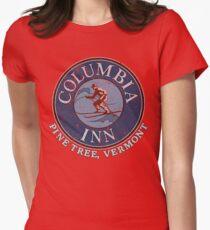 Columbia Inn, Pine Tree Vermont Women's Fitted T-Shirt