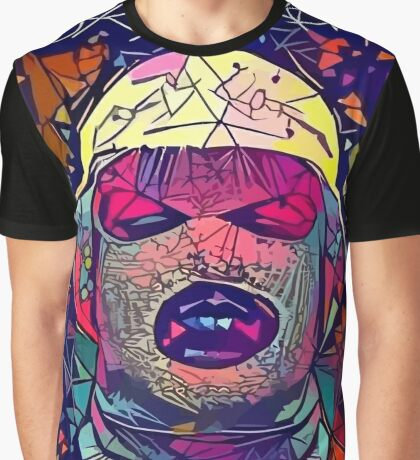 Abstract Oxymoron Graphic T-Shirt
