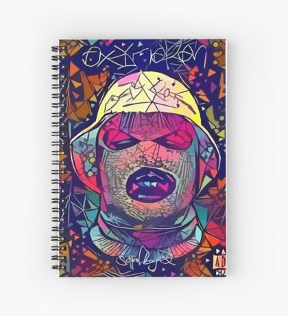 Abstract Oxymoron Spiral Notebook