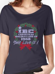 IBC Christmas Line Up Women's Relaxed Fit T-Shirt