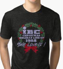 IBC Christmas Line Up Tri-blend T-Shirt