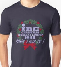 IBC Christmas Line Up Unisex T-Shirt