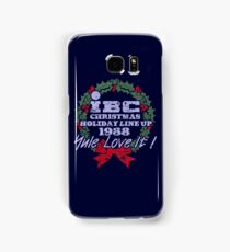IBC Christmas Line Up Samsung Galaxy Case/Skin