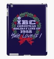 IBC Christmas Line Up iPad Case/Skin