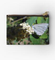 Greenish Blue Butterfly Studio Pouch