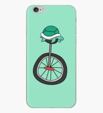 Unicycle Turtle iPhone Case