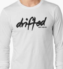 Drifted Classic Tee - White Long Sleeve T-Shirt