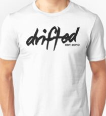 Drifted Classic Tee - White Unisex T-Shirt