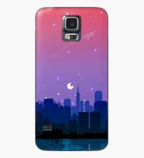 Bisexual Pride Cityscape Case/Skin for Samsung Galaxy