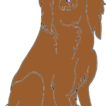Alfie the spaniel by Awendela