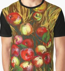 Apples In The Grass Graphic T-Shirt