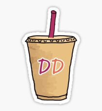dd coffee sticker