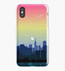 Pansexual Pride Cityscape iPhone Case/Skin