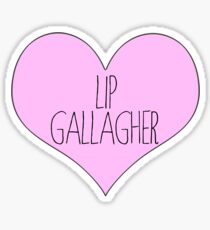 lip gallagher sticker shameless Sticker