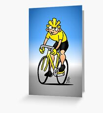 Cyclist - Cycling Greeting Card
