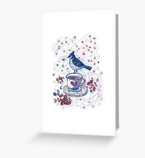 Winter Tea Greeting Card