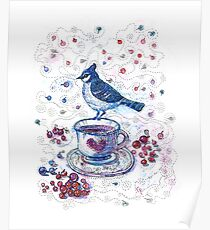 Winter Tea Poster