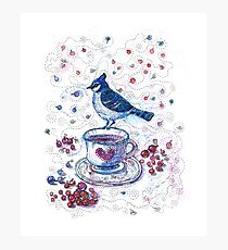 Winter Tea Photographic Print