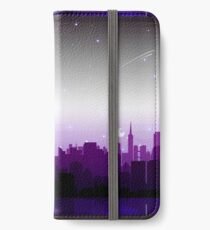 Asexual Pride Cityscape iPhone Wallet/Case/Skin
